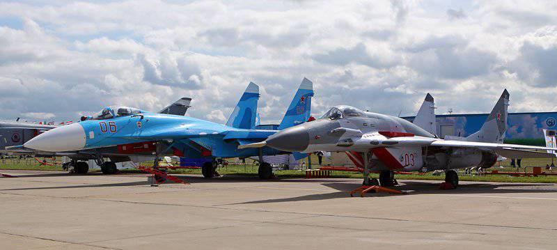बिग ब्रदर की छाया में। मिग- 29 और Su-27 के टकराव पर