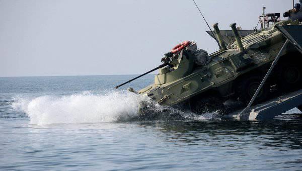 """लैंडिंग नाव """"लेफ्टिनेंट रिमस्की-कोर्साकोव"""" ने परीक्षण कार्यक्रम पूरा किया"""