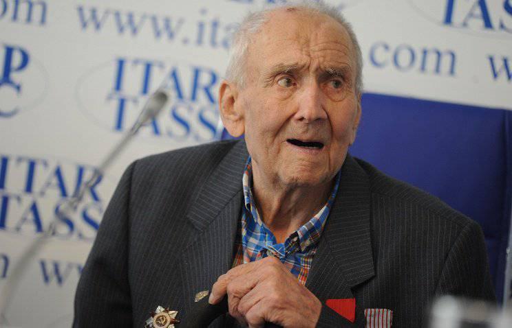 На 96-м году умер Николай Васенин – участник французского Сопротивления