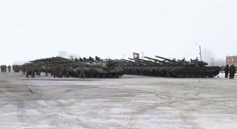 यूक्रेनी सेना रिकॉर्ड सेट करती है: पहले से ही 10 संशोधित टैंकों के साथ सशस्त्र