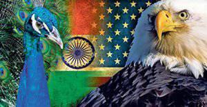 ワシと孔雀の連合