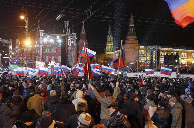 Патриотический «майдан» в России – подготовка началась