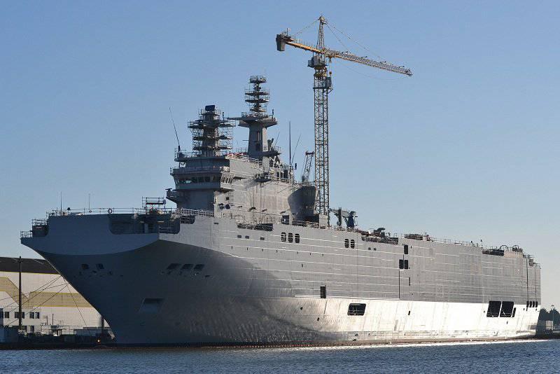 フランスがミストラルロシアのような船を供給すべきでない理由
