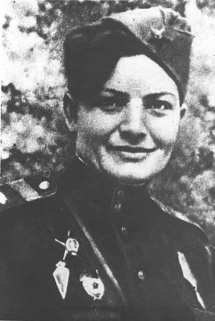 द्वितीय विश्व युद्ध के महिला टैंकर। कैथरीन पेटिलुक