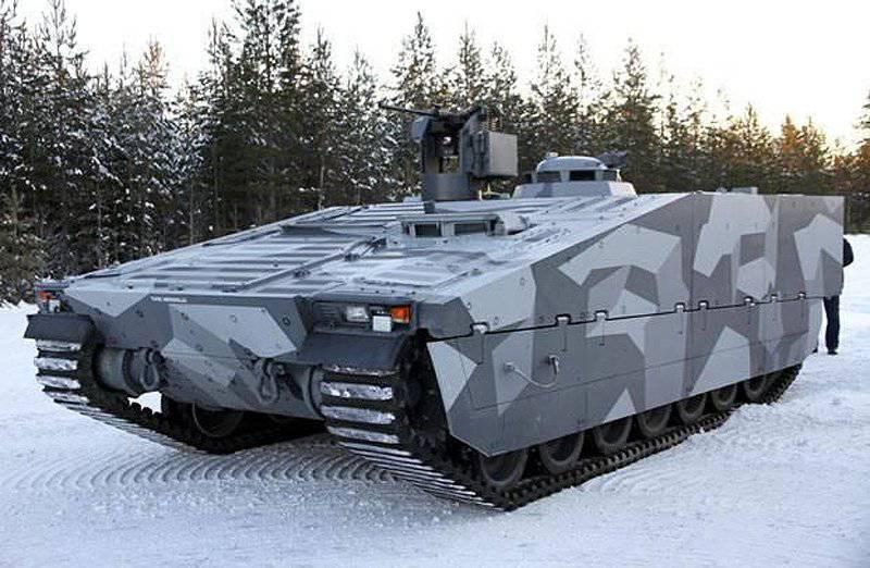 Компания BAE Systems демонстрирует усовершенствования в своей машине CV90