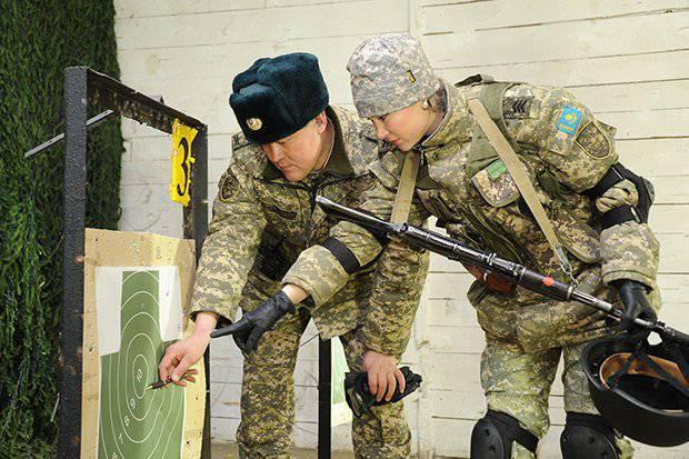 Женщины в вооруженных силах Казахстана (фото)