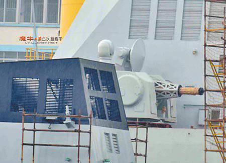 """नज़दीकी रेंज की चीनी शिपबोर्न वायु रक्षा प्रणाली """"टाइप 1130"""""""