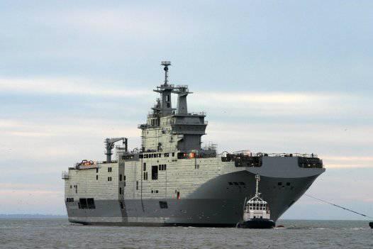 Mistrals के रूसी दल वर्ष के अंत से पहले फ्रांस छोड़ देंगे