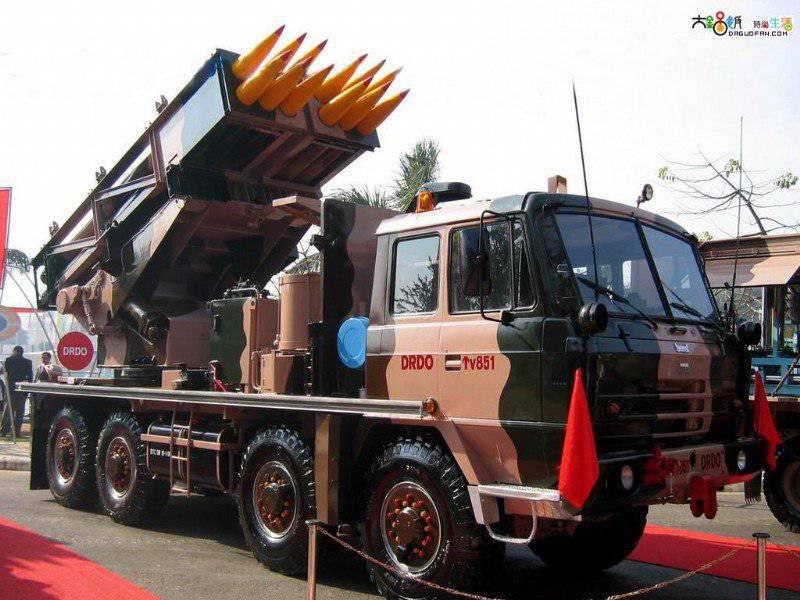 भारतीय MLRS पिनाका