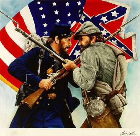 南北戦争に関するアメリカの神話「奴隷の自由のために」