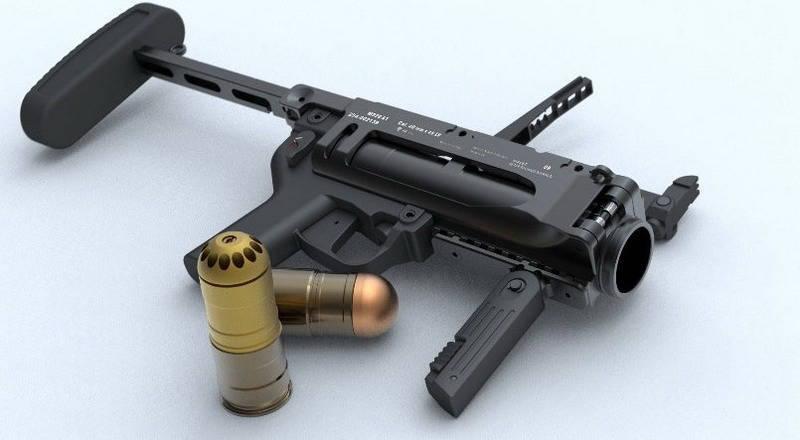 Проект «умной» гранаты SAGM (США)