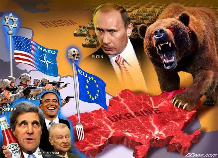 यूक्रेन। सर्कल बंद है ...
