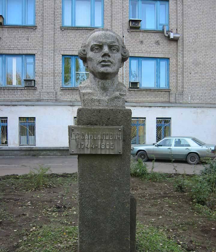 रूस में पहली महामारी विज्ञानी। डेनियल समोइलोविच सुषकोवस्की