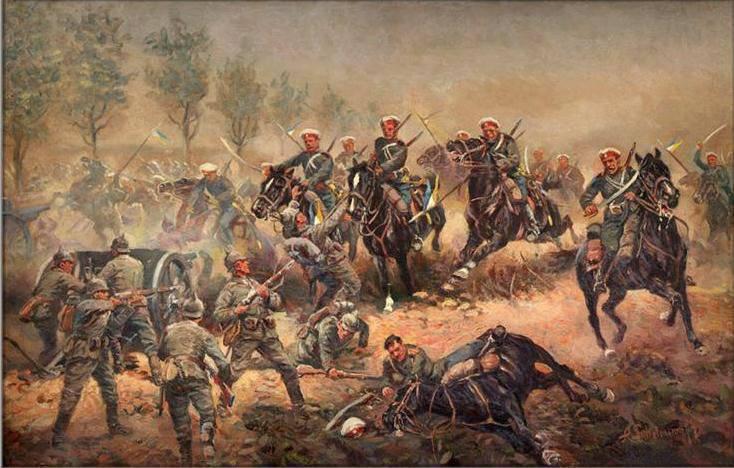 コサックと第一次世界大戦 パートIV。 1916年
