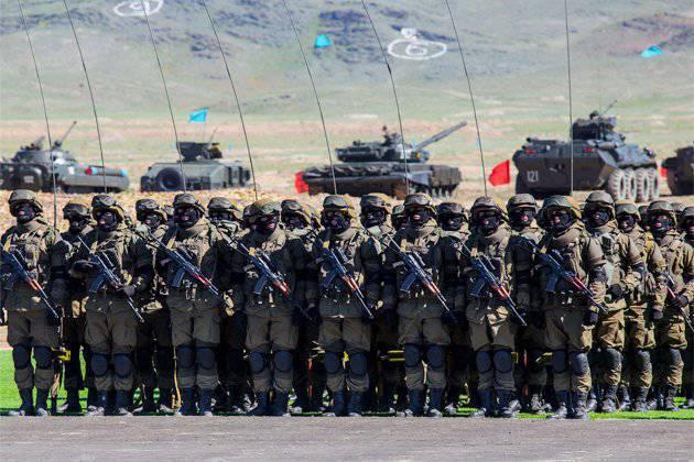 मध्य एशिया में कजाकिस्तान की सबसे शक्तिशाली सेना है