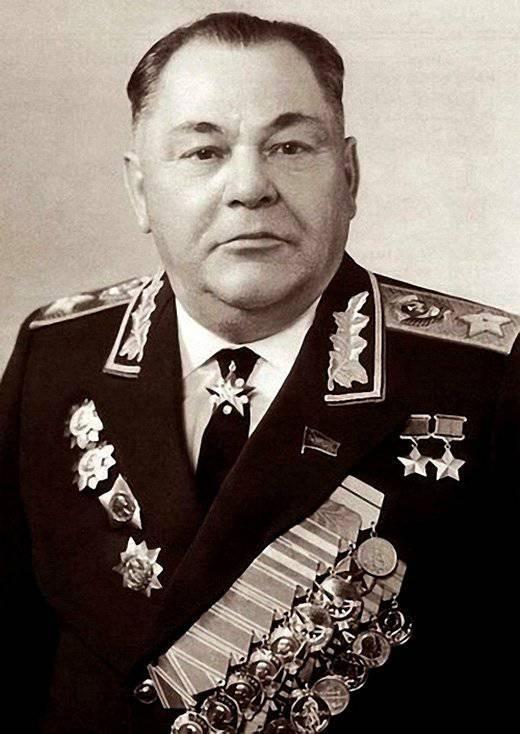 Commandant soviétique Peter Kosilova