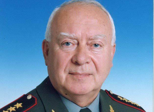 पूर्व रूसी रक्षा मंत्री इगोर रोडियोनोव का निधन