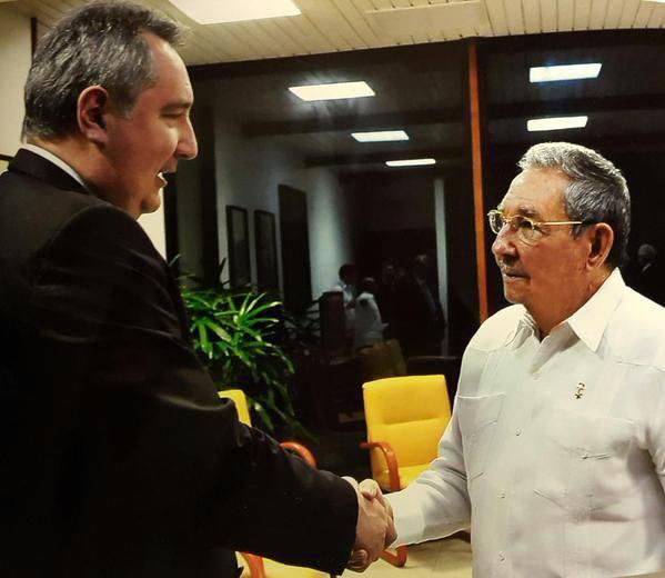 Битва за Кубу. Дмитрий Рогозин прибыл в Гавану