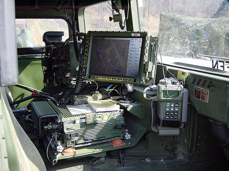 XXI सदी FBCB2 की लड़ाकू नियंत्रण प्रणाली