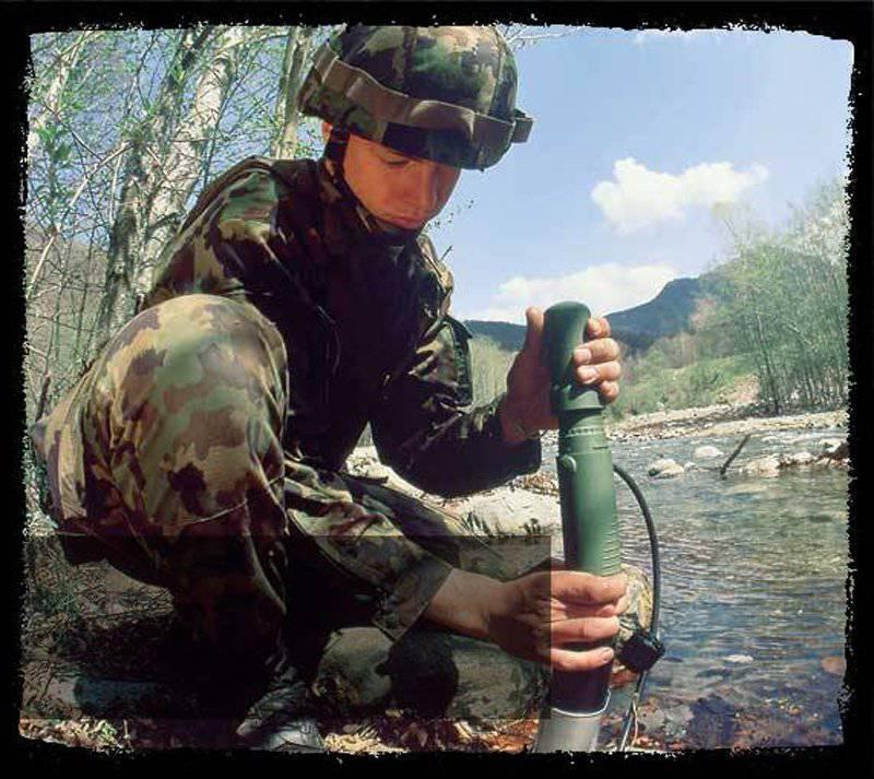 Немецкая компания Katadyn – «Солдат должен быть везде и всегда как дома»