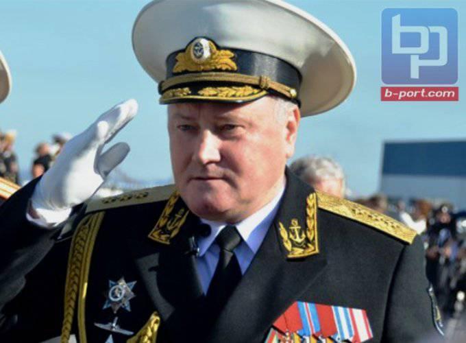 北極の軍隊を指揮するために任命された北艦隊の司令官