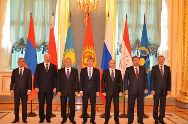 CSTO集団安全保障理事会会議がモスクワで始まります