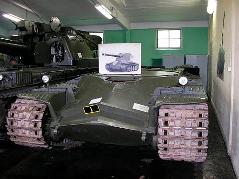 Проект тяжелого танка KRV Emil (Швеция)