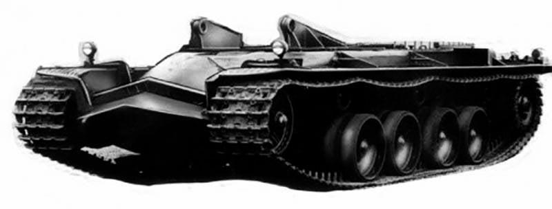 ドラフト重戦車KRVエミール(スウェーデン)