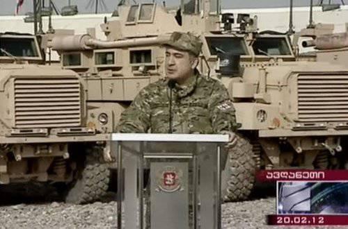 Mikheil SaakashviliはテロリストにNATOの武器を提供できる