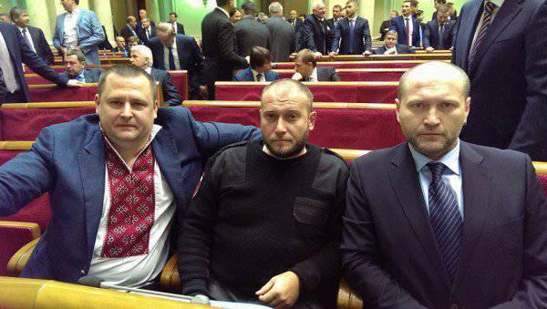 Borislav BerezaとYaroshは戦車でモスクワに行きたい