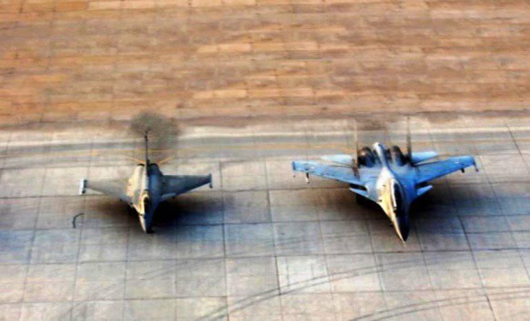 Индия уступила Пакистану по числу истребительных эскадрилий