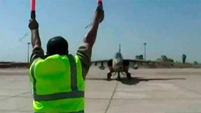 सु-एक्सएनयूएमएक्स विमान पर इराकी वायु सेना के पायलटों ने तिकरित क्षेत्र में आईएस के ठिकानों पर सफलतापूर्वक हमला किया