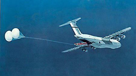 ICBM空中発射-40年後