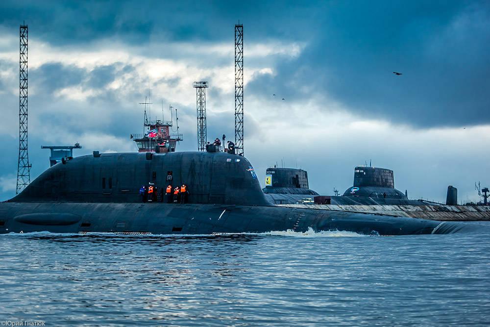 вооружение подводных лодок вмф россии