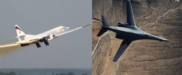 Отмечены новые преимущества Ту-160 над B1 Lancer