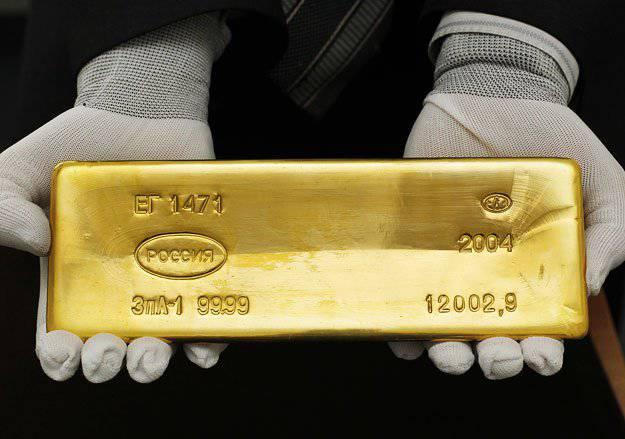 ロシア、米ドルへの「黄金」攻撃を覆い隠す(「Die Welt」、ドイツ)