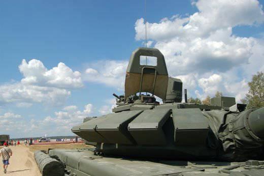 T-72B3 - modernização do orçamento com blindagem reativa desatualizada