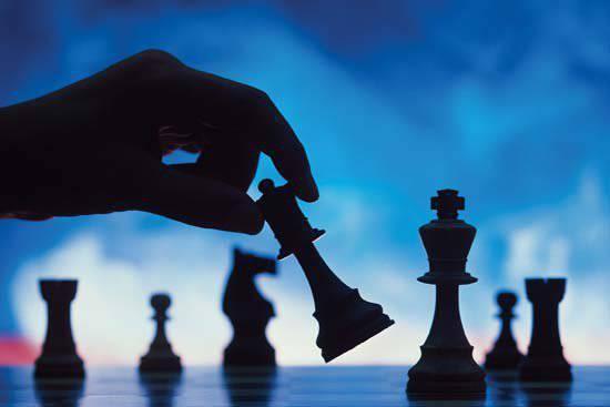チェスの2人の王が演じた方法の物語