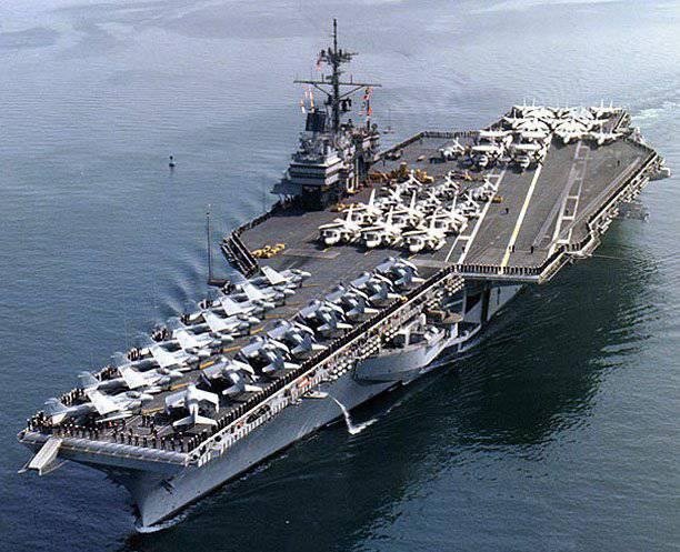 अमेरिकी नौसेना स्क्रैप के लिए 1 प्रतिशत के लिए एक विमान वाहक बेचता है। नौसेना अधिकारियों पर भ्रष्टाचार का संदेह है