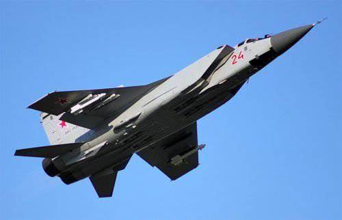 ミグ31BM迎撃戦闘機はロシアの北極をカバーします
