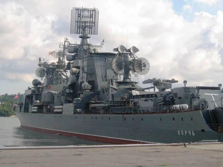 """BPC """"केर्च"""" का निस्तारण करने का निर्णय लिया गया, और अधूरे प्रशिक्षण जहाज """"बोरोडिनो"""" को मॉथबॉल किया गया"""