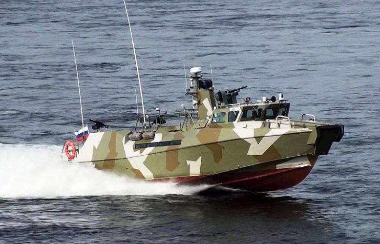 ラプターボートは2015の開始時に黒海艦隊を補充します。