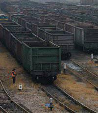 Ukrzaliznytsia: 900 कोयला वैगन डोनबास में अवरुद्ध