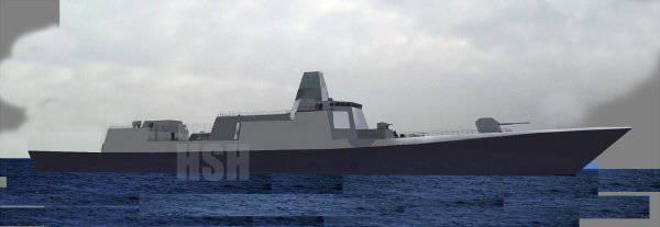 Китай начал строительство головного супер-эсминца «Тип 055»
