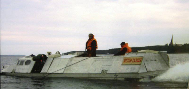 Проект погружающегося катера 21310 «Тритон-НН»