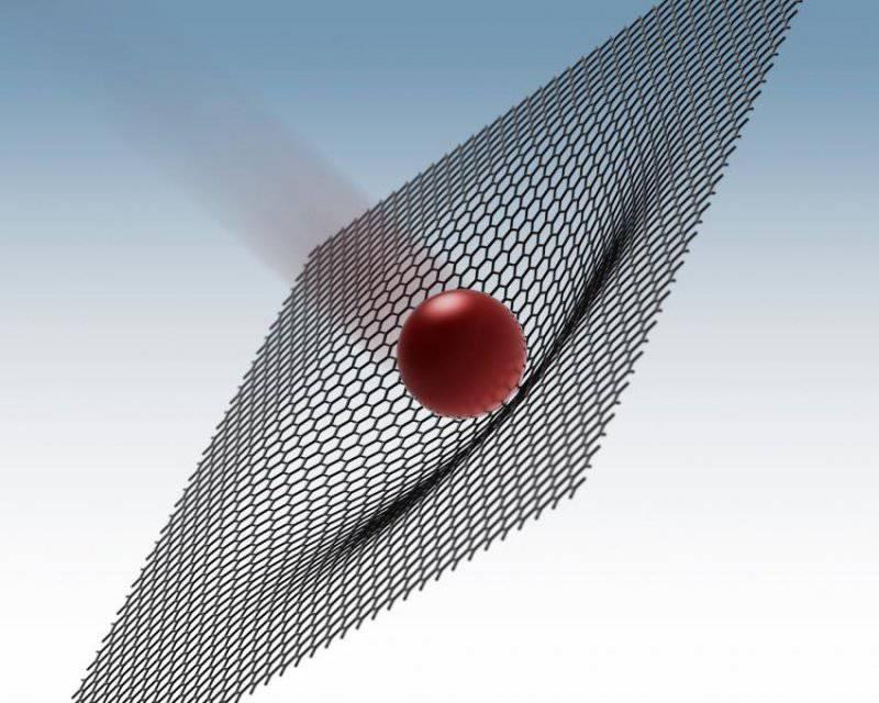Графен защитит от пуль лучше стали