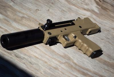 Представлен модульный пистолет MastePiece Arms MPA30DMG