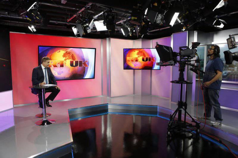 Появление британской версии телеканала RT перепугало власти Соединенного Королевства