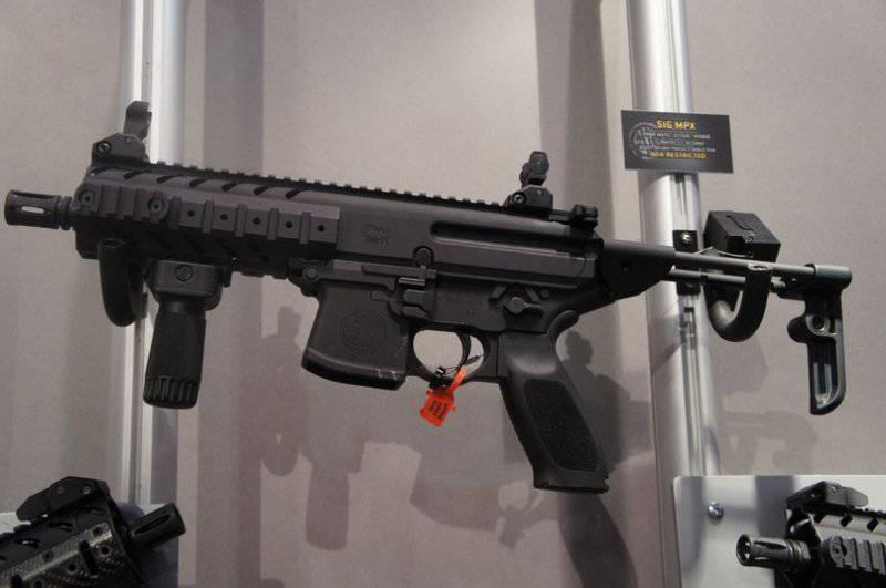 Пистолет-пулемёт SIG-Sauer MPX