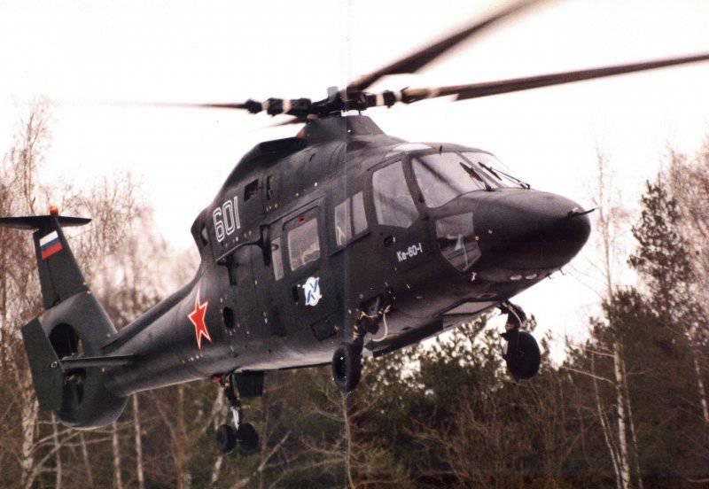 Многоцелевые вертолеты Ка-60 и Ка-62